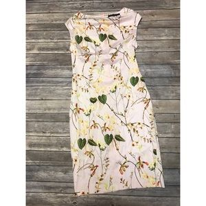 Flirty Floral Zara Spring Dress